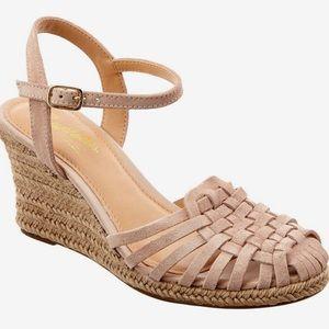 Seychelles Aspiration Suede Wedge Sandals
